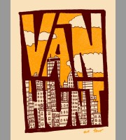 Van Hunt: Fall Tour Poster, 2011 Unitus