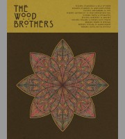 The Wood Brothers: West Coast Tour Variant Poster, 2012 Shaw