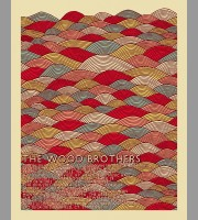 The Wood Brothers: Winter Tour Poster, 2012 Shaw