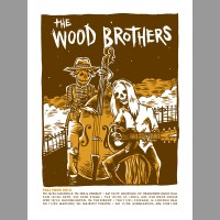 The Wood Brothers: Fall Tour Poster, 2012 Unitus