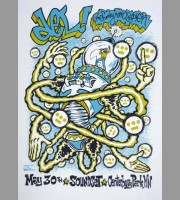 Del The Funky Homosapien: Shokopee, MN Soundset Show Poster, 2010 Dwitt
