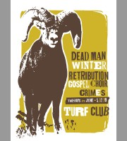 Dead Man Winter: St. Paul, MN Show Poster, 2012 Unitus