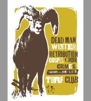 Dead Man Winter: St. Paul, MN Show Poster, 2012 Unitus