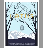 Lotus: Winter Tour Poster, 2010 Forsman