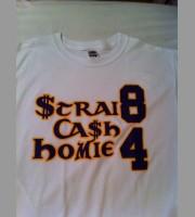 Strai8 Ca$h Homie 84: Vikings Shirt, 2010 Mc.