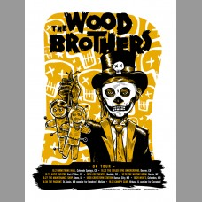The Wood Brothers: Fall Tour Poster, 2010 Unitus