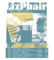 Liz Phair: Summer Tour Poster, Unitus 18