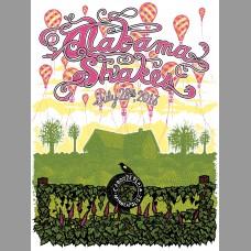 Alabama Shakes: Cabooze Plaza Show Poster, 2013 Nylen