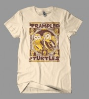 Trampled By Turtles: Palomino Tour Shirt, 2009 Unitus