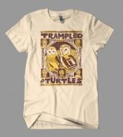 Trampled By Turtles: Palomino Tour Shirt, 2009 Unitus