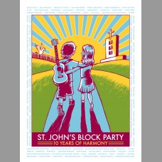 St. John's Block Party: Show Poster, 2013 Unitus