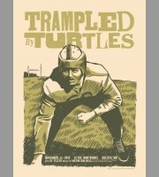 Trampled By Turtles: Duluth, MN Show Poster, 2012 Unitus