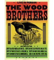 The Wood Brothers: Winter Tour Poster, 2012 Hamline