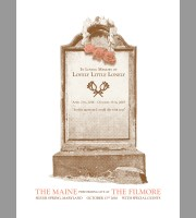 The Maine: In Loving Memory Of Lovely Little Lonely Show Poster, 18 Unitus