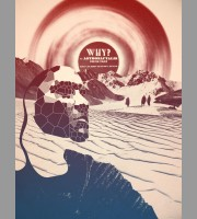 WHY? Seattle, WA Show Poster, 2013 Shaw