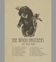 The Wood Brothers: Fall Tour Poster, 2011 Shaw