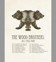 The Wood Brothers: Fall Tour Poster II, 2012 Shaw