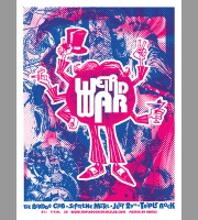 Weird War: Triple Rock, Minneapolis Poster, Unitus 2005