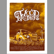 The Wood Brothers: East Coast Tour Poster, 2013 Unitus