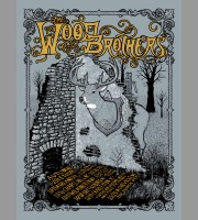 The Wood Brothers: Autumn Tour Poster, 2013 Nylen