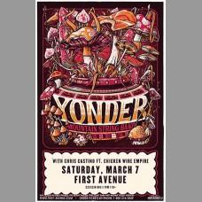 Yonder Mountain String Band 2020 Tour Promo Poster