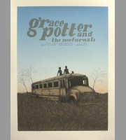 Grace Potter And The Nocturnals: Houston, TX Show Poster, 2012 Santora