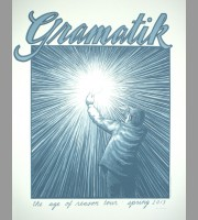 Gramatik: The Age Of Reason Tour Poster, 2013 Santora