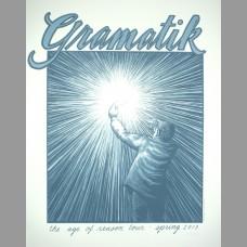Gramatik: The Age Of Reason Tour Poster, 2013 Santora
