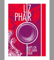 Liz Phair: Amps On The Lawn Tour Poster, Unitus 18