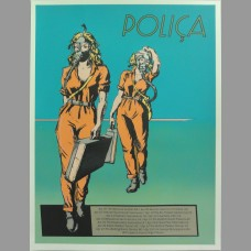 Polica: April Tour Poster, 2013 Tasseff-Elenkoff