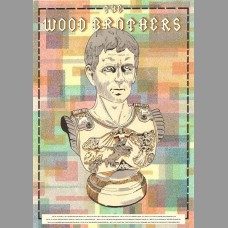 The Wood Brothers: West Coast Tour Poster, 2015 Tasseff-Elenkoff