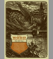 The Wood Brothers: Fall Tour Poster, 2013 Quinine