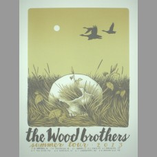 The Wood Brothers: Summer Tour Poster, 2013 Santora